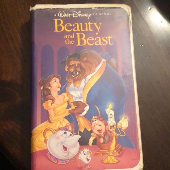 Beauty and the Beast Black Diamond Classic VHS